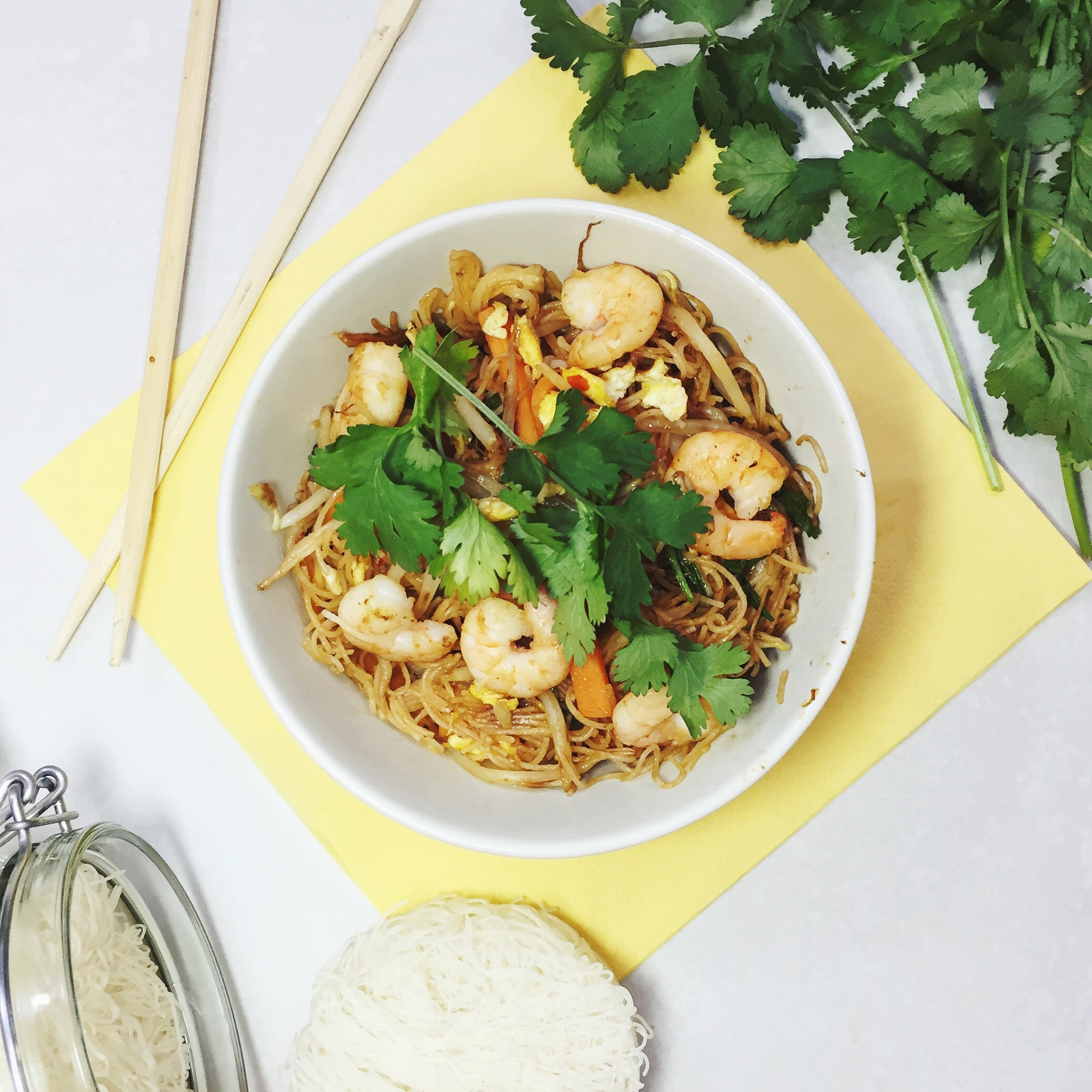 Sweet Chilli Prawn Stir Fry