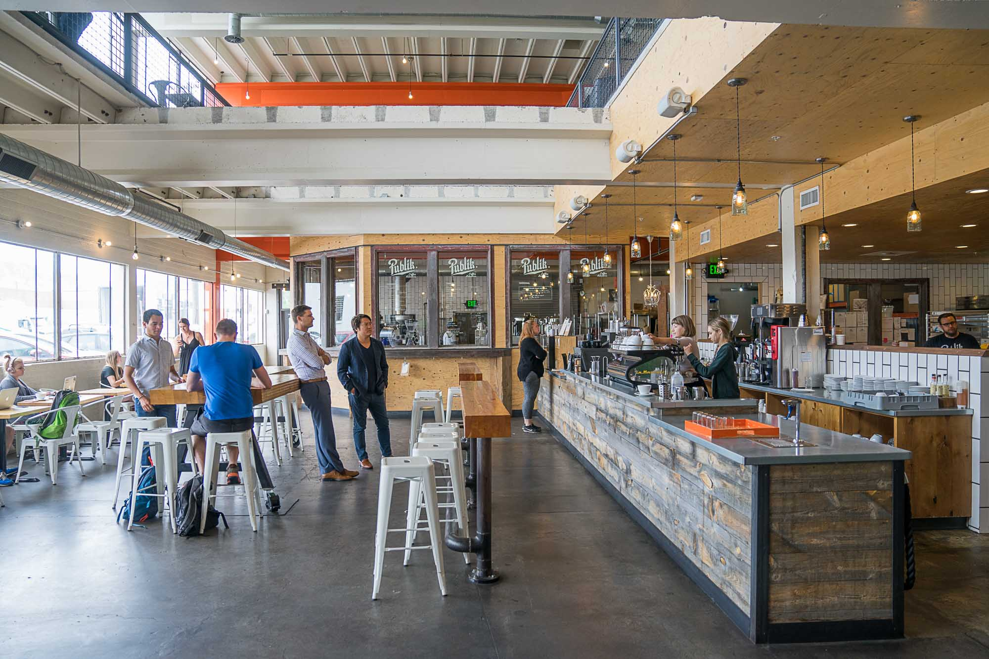 Publik coffee is a local must in Salt Lake City