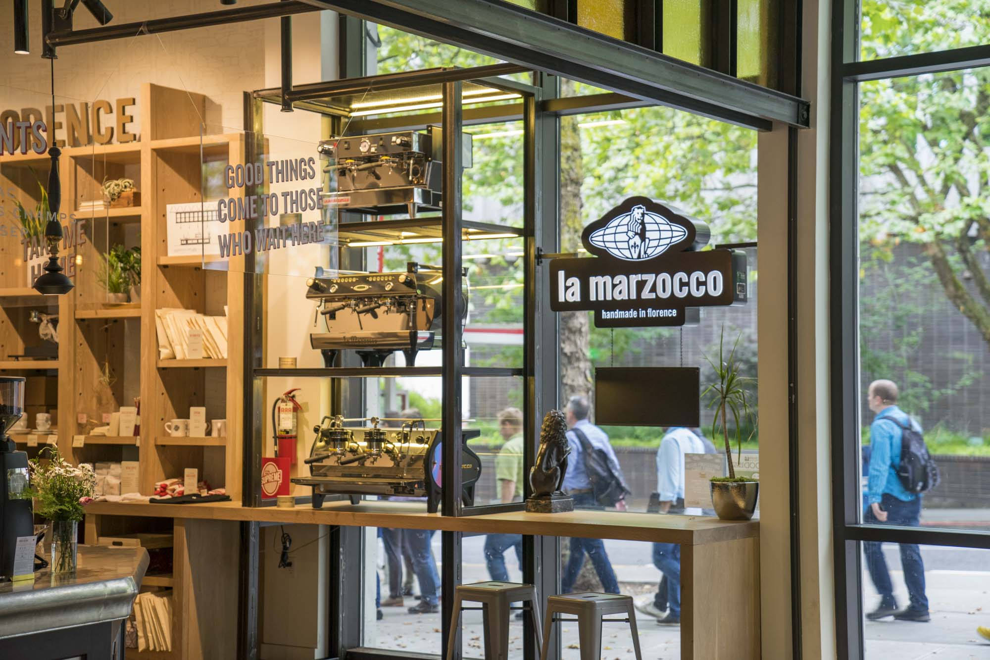 La Marzocco is a Seattle local must.