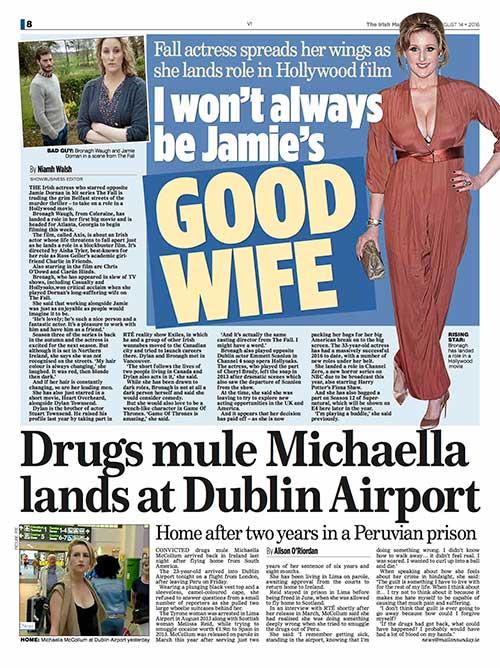 Bronagh Waugh publicity