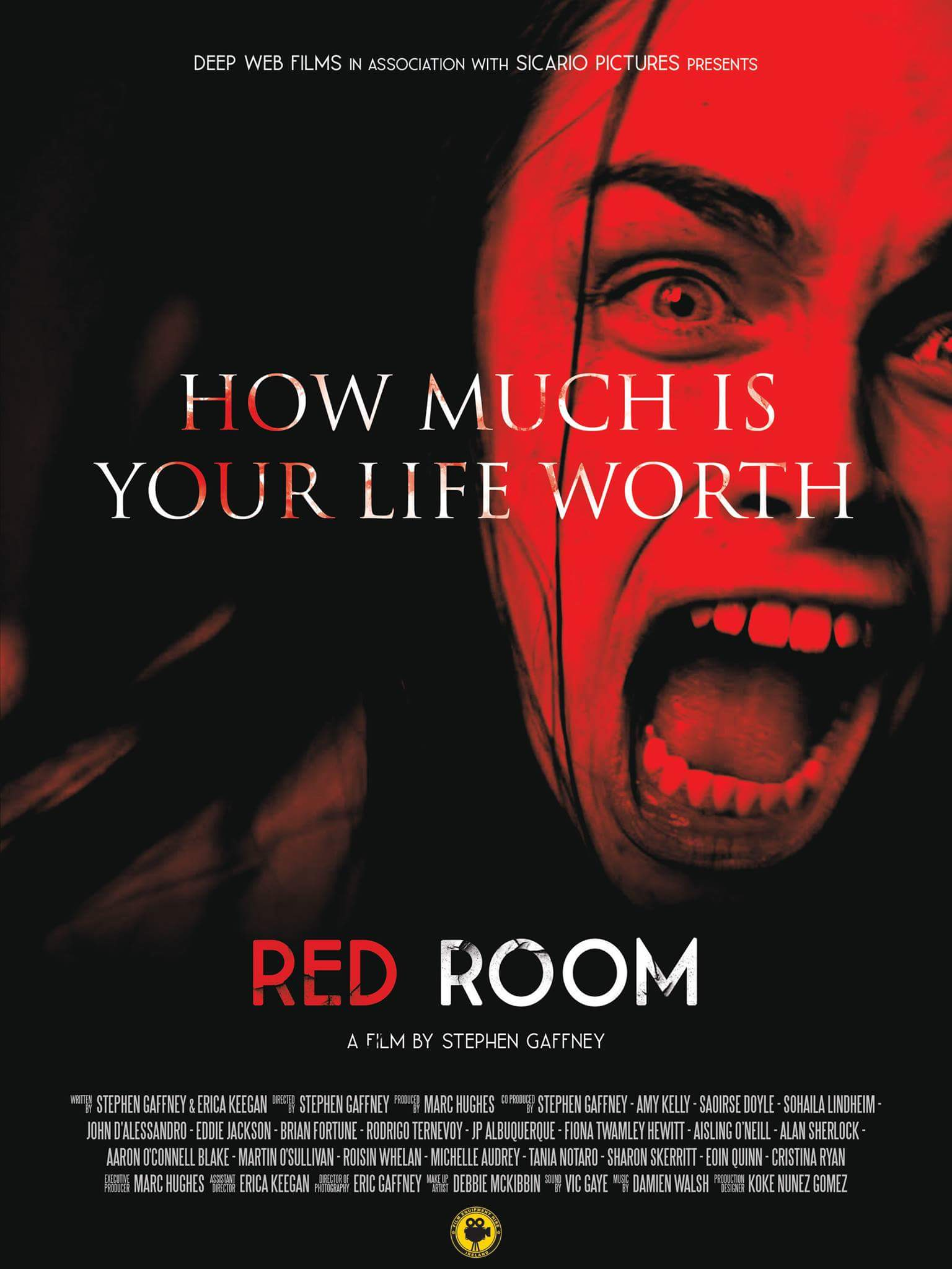 Movies.ie interview with Director Stephen Gaffeny of RED ROOM