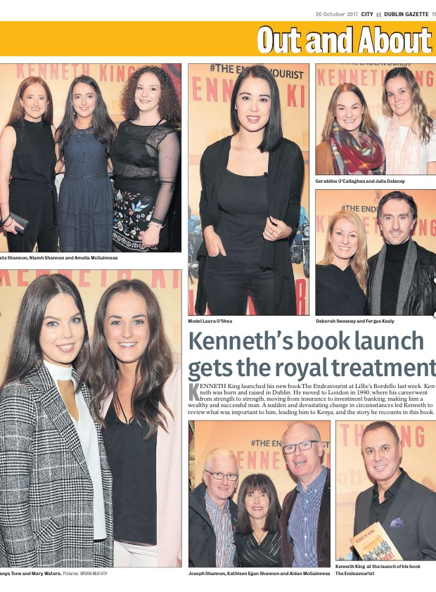 Coverage from the Launch of The Endeavourist