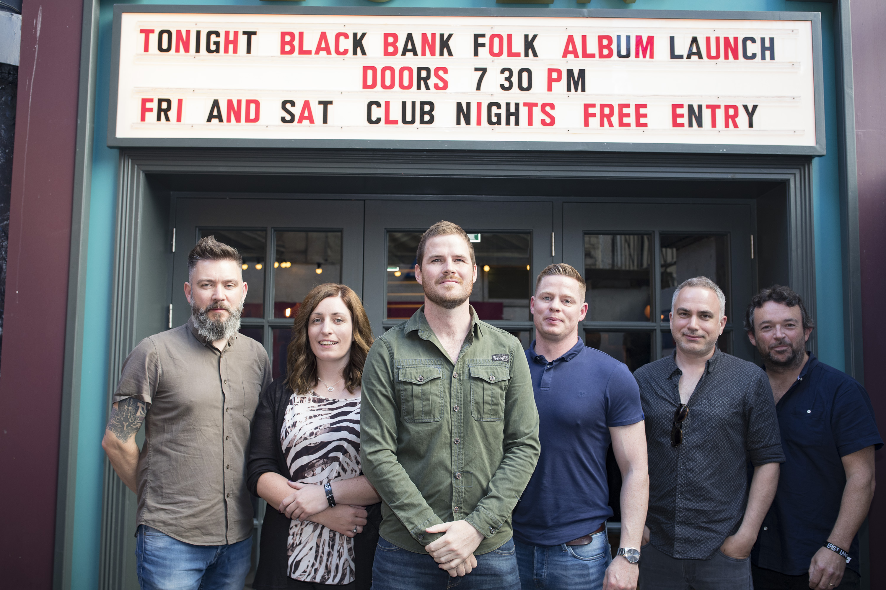 BLACK BANK FOLK-Album Launch