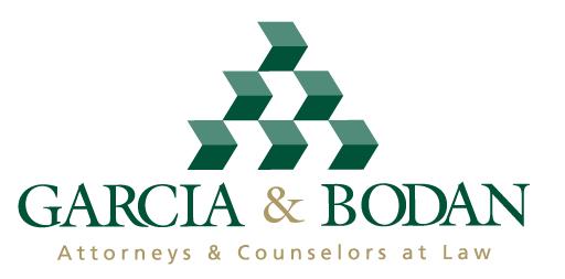 García & Bodan Logo