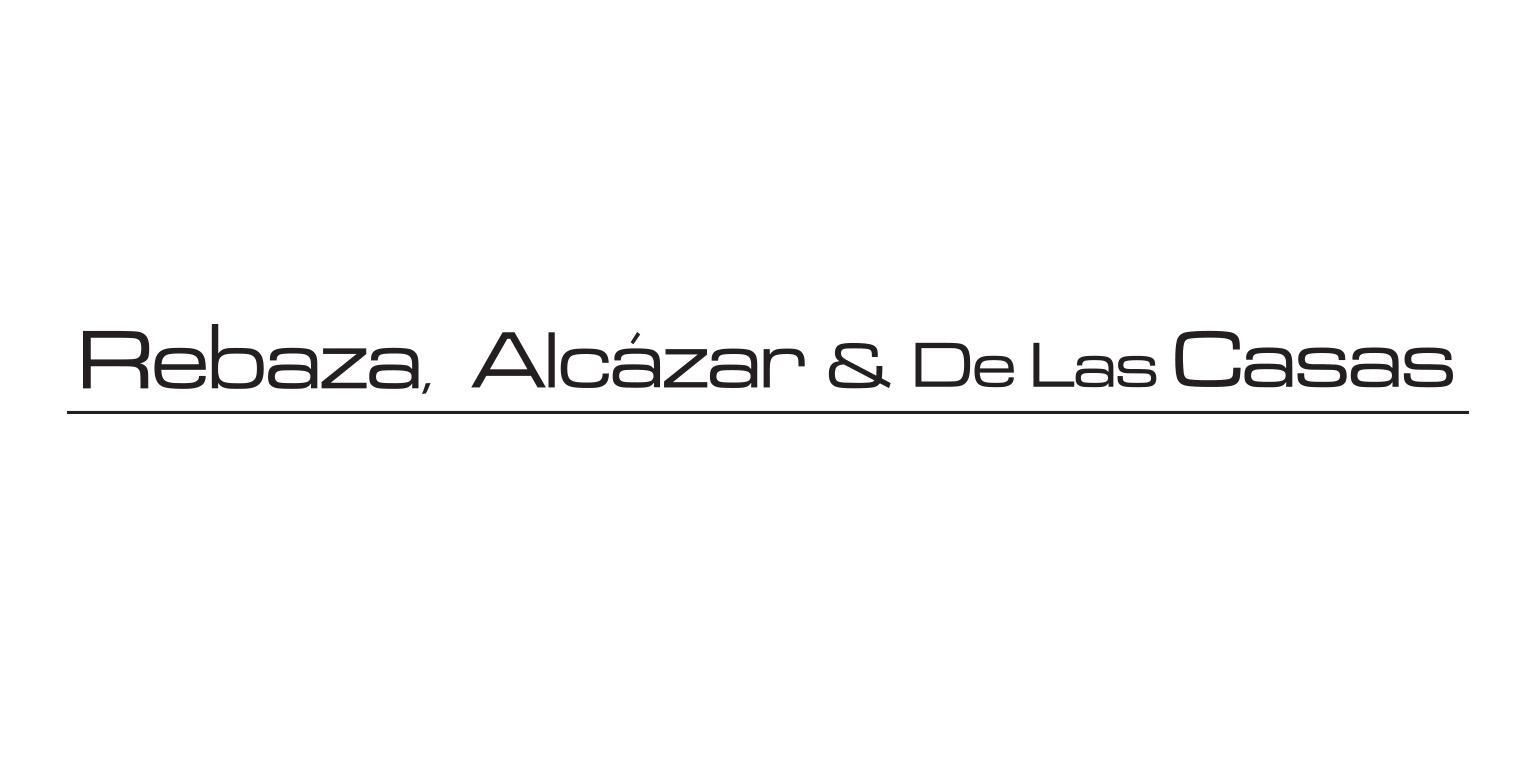 Rebaza Alcázar y De las Casas logo