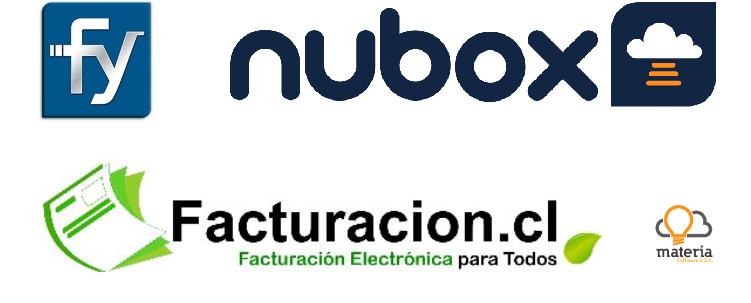Proveedores de facturación electrónica Nubox, Facturacion.cl, Materia y Facturemos YA