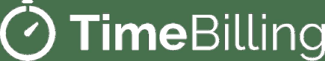 Logo TimeBilling Blanco