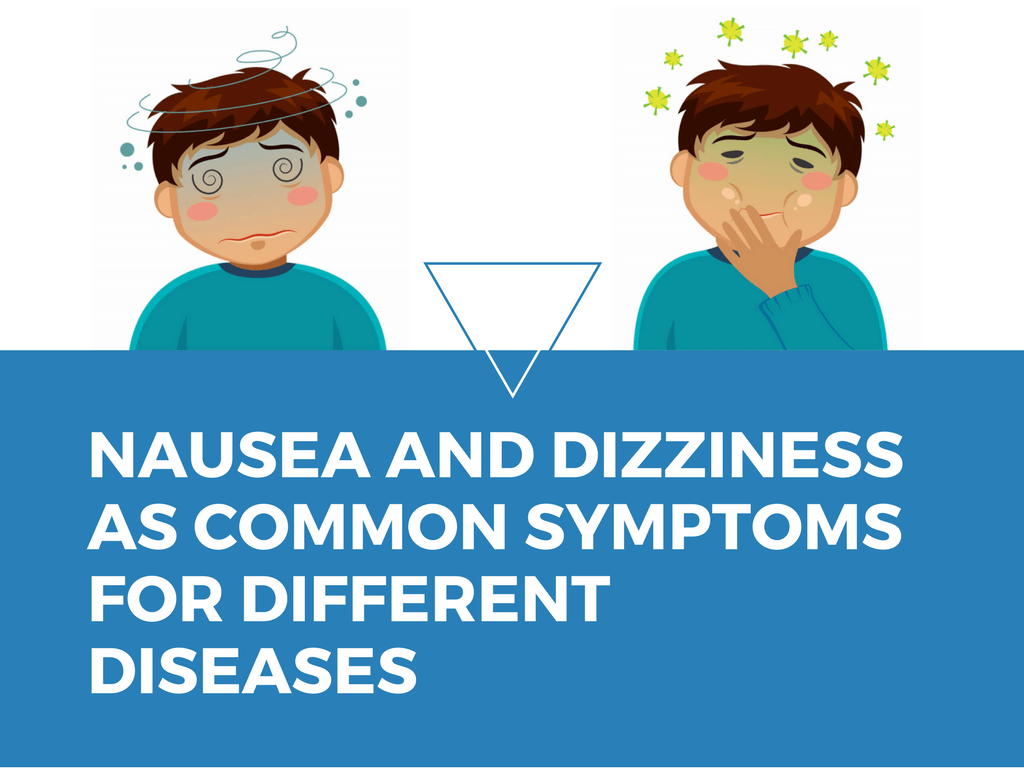 Nausea and Dizziness - Symptoms Which Often Accompany Each Other