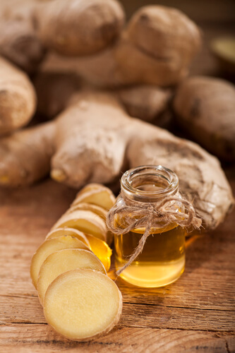 ginger essential oil for vertigo