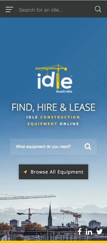 Idle Australia Mobile Home Screen