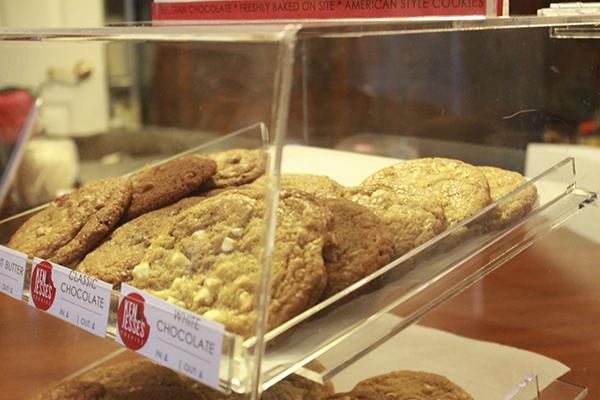 Ken and Jesse's cookies displayed