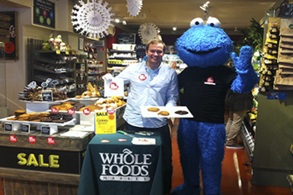 Cookie monster in whole foods