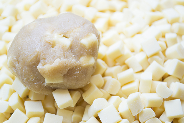 classic cookie dough with white chocolate chips