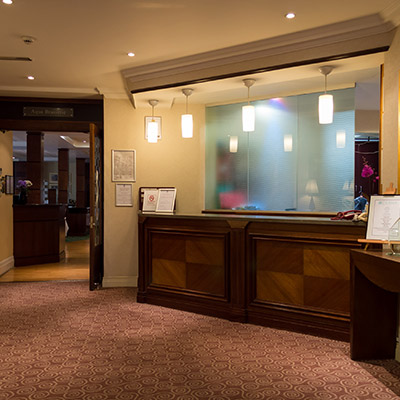 Hotel Reception and Entrance