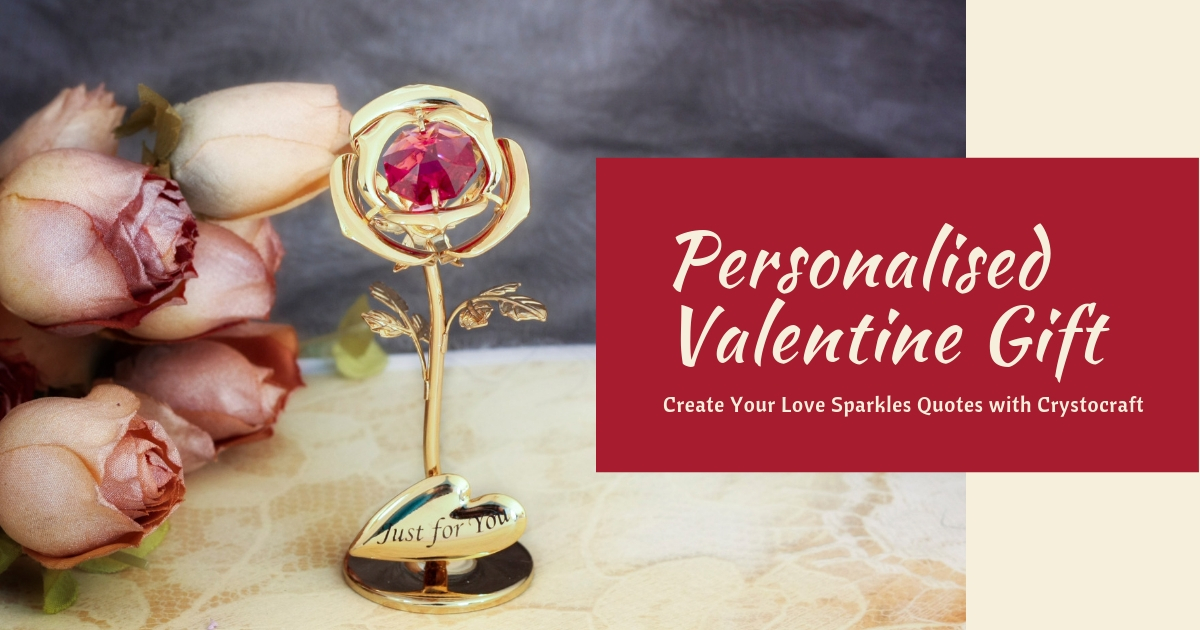 Personalised Valentine Gift | crystocraft.com