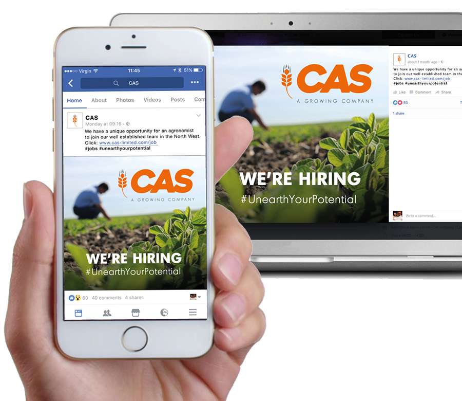 CAS Facebook Posts - Laptop & Mobile