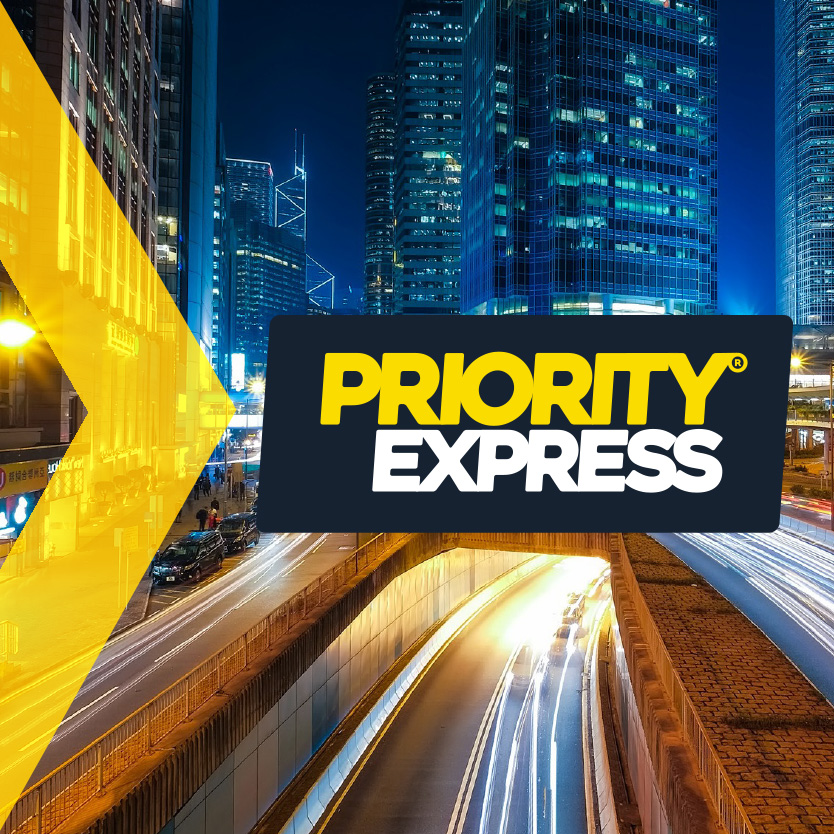 Priority Express® Rebrand & Marketing