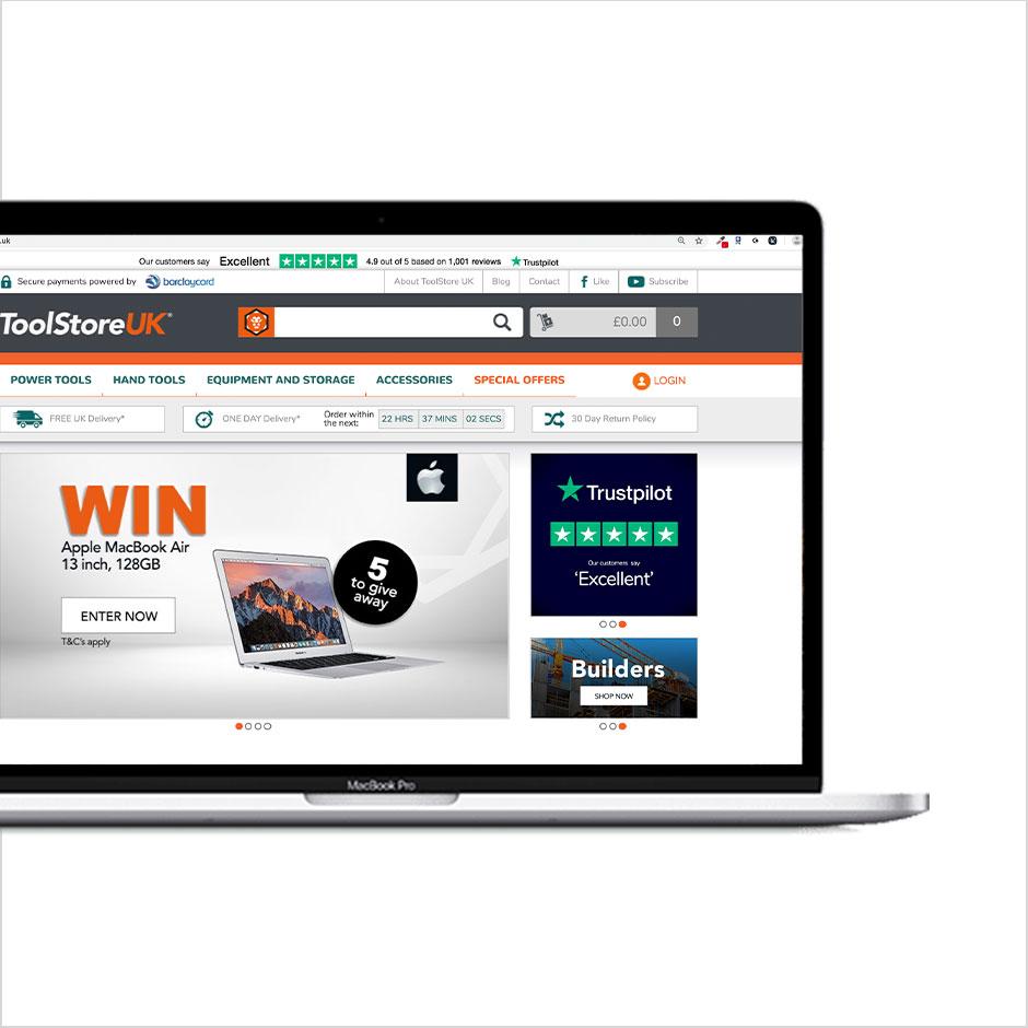 Toolstore UK Website
