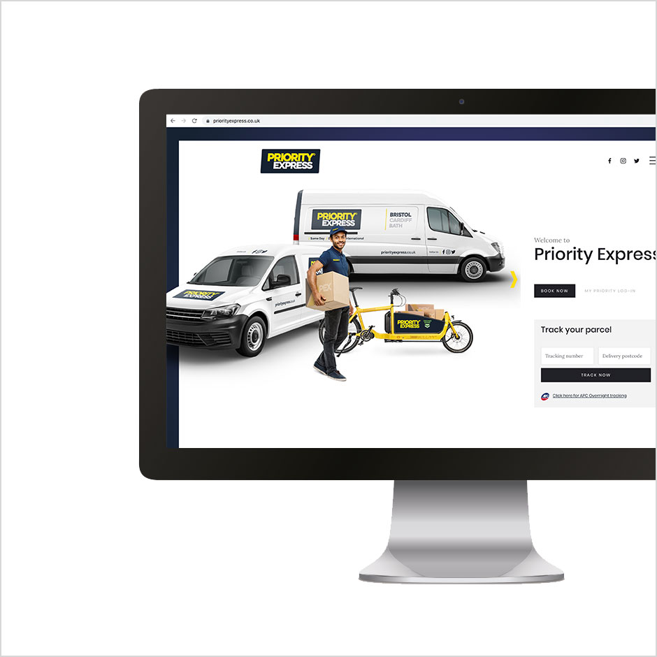Priority Express Website