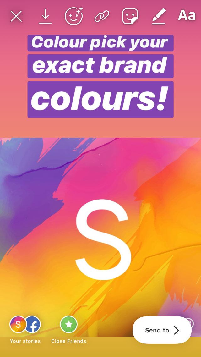 Colour pick your exact brand colours using this Instagram hack