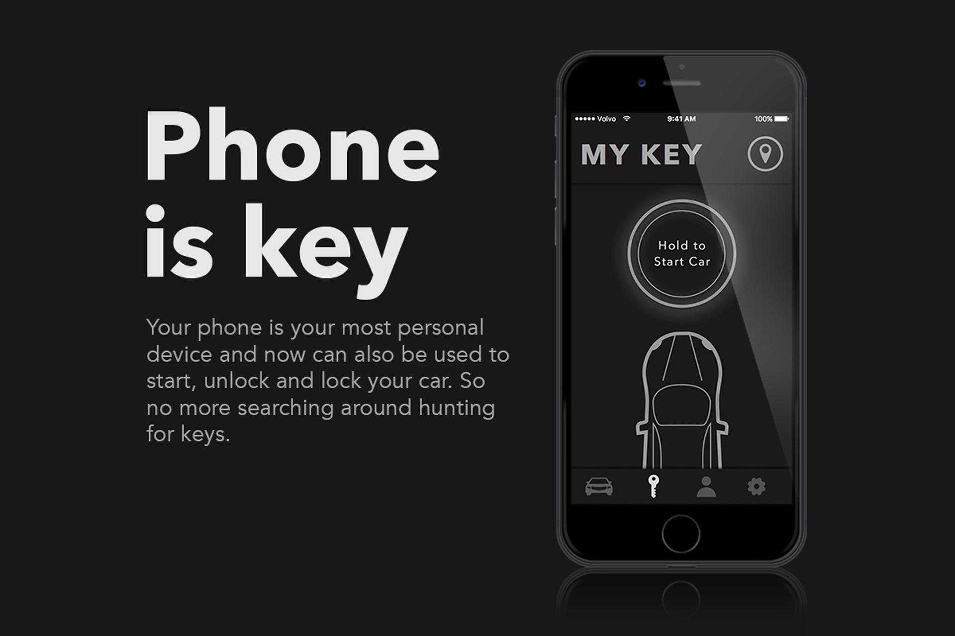 Phone is key