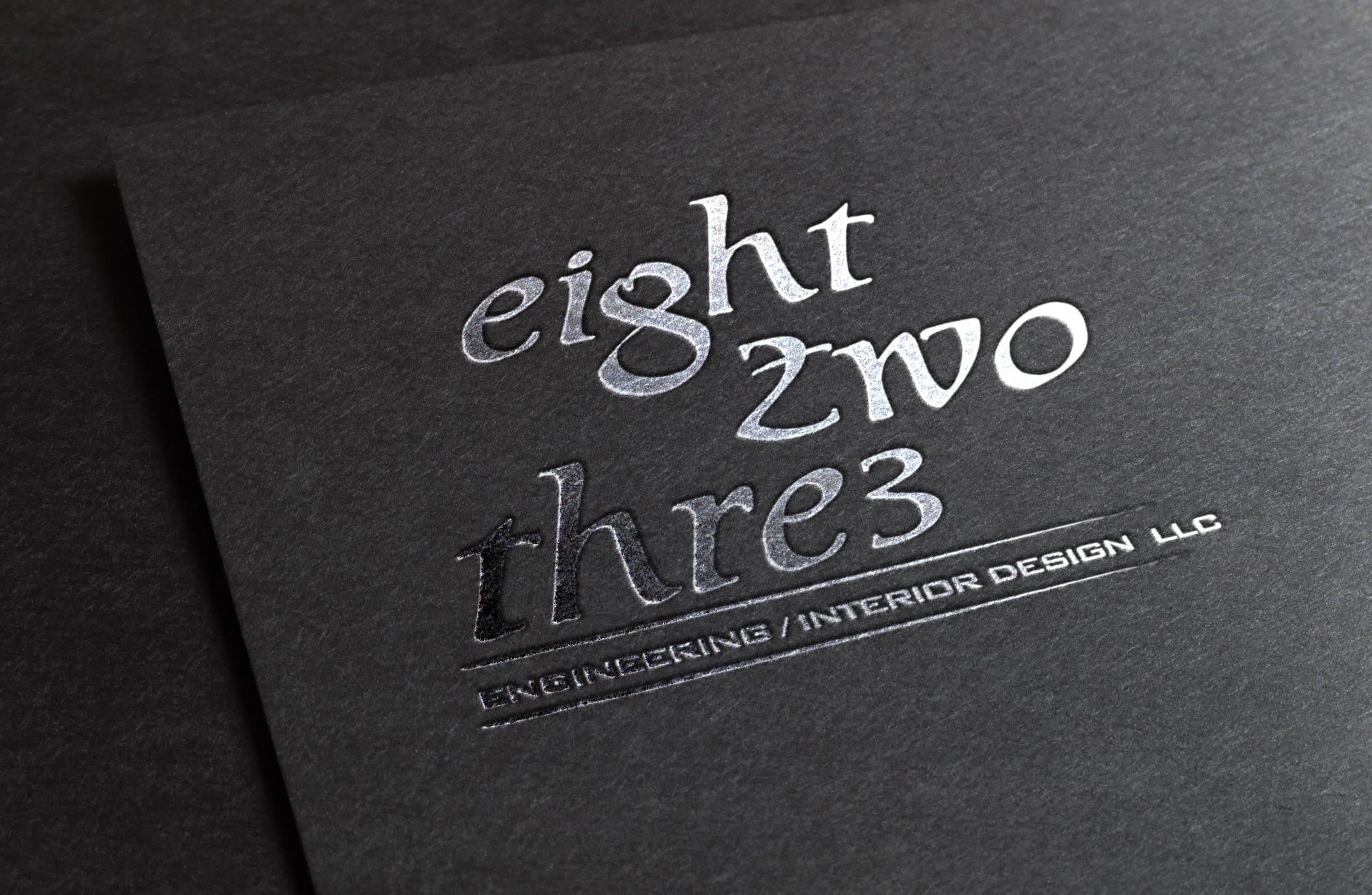 823 Logo