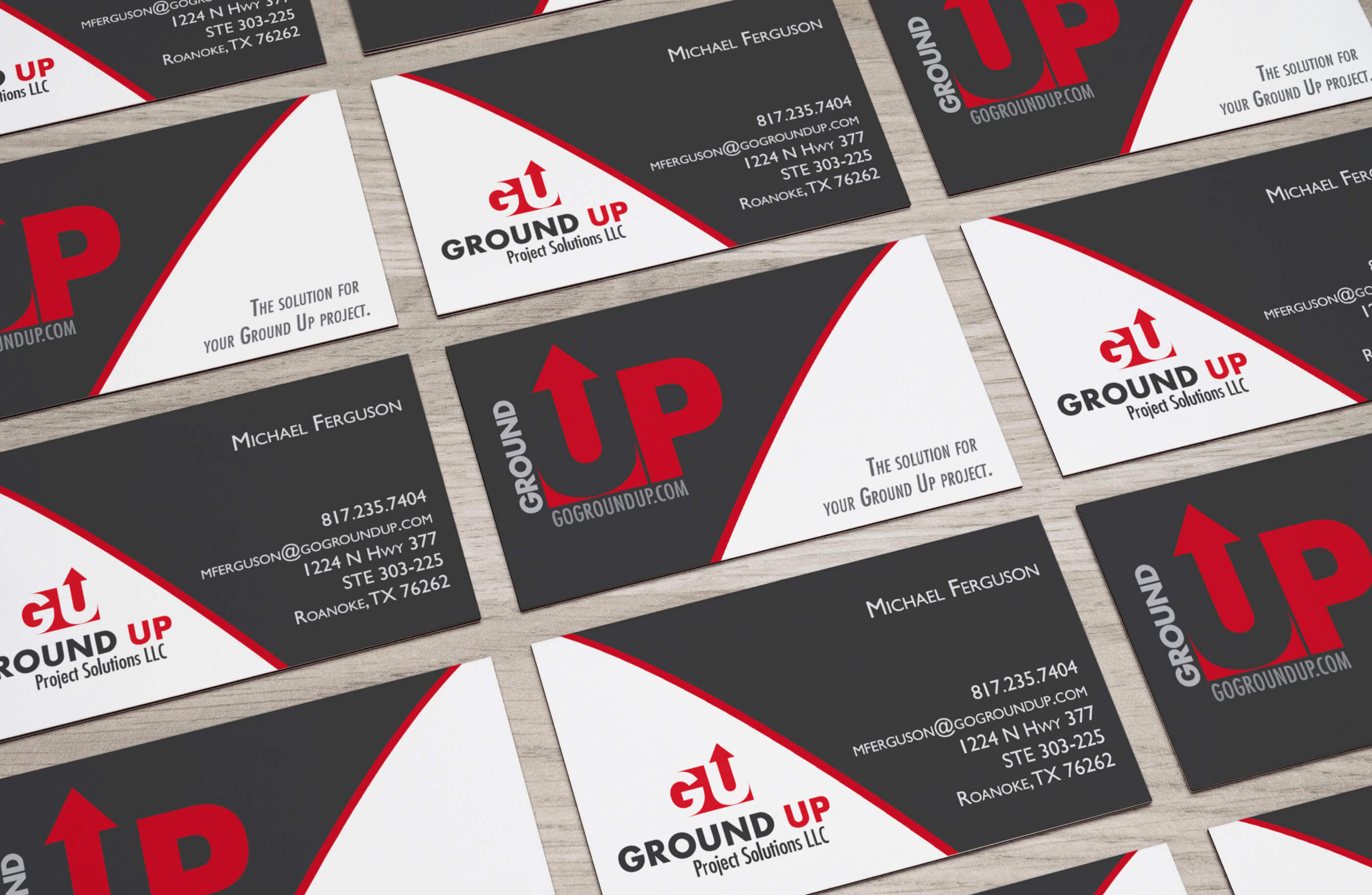 Ground Up Business Card