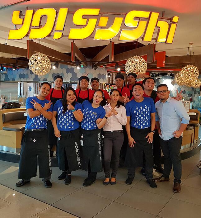 yo sushi team