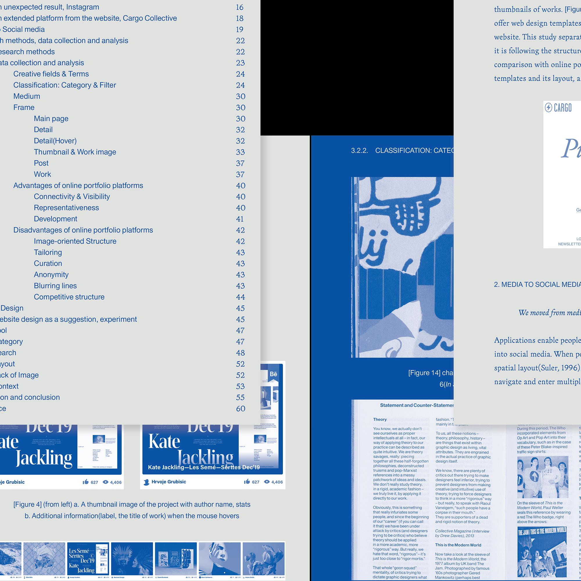 Re-building Context-Oriented Graphic Design Portfolio in the Social Media Age