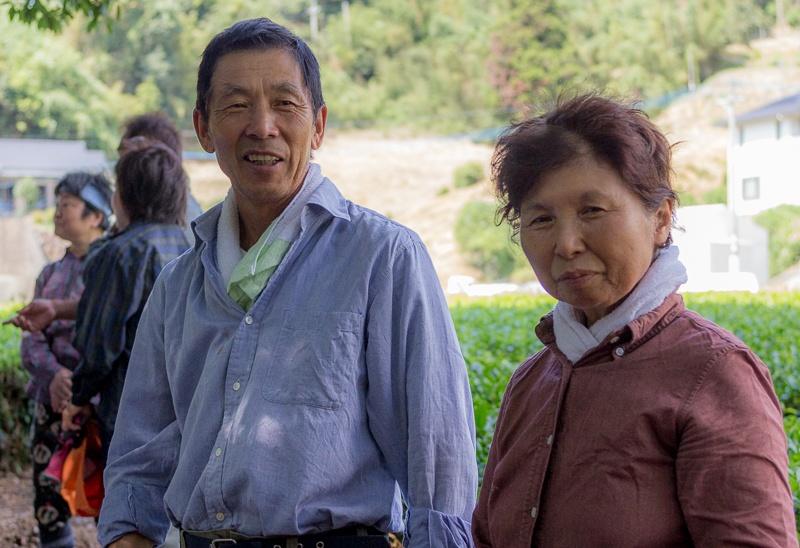 Famille de fermiers de thé vert au Japon, Higashi-Sonogi