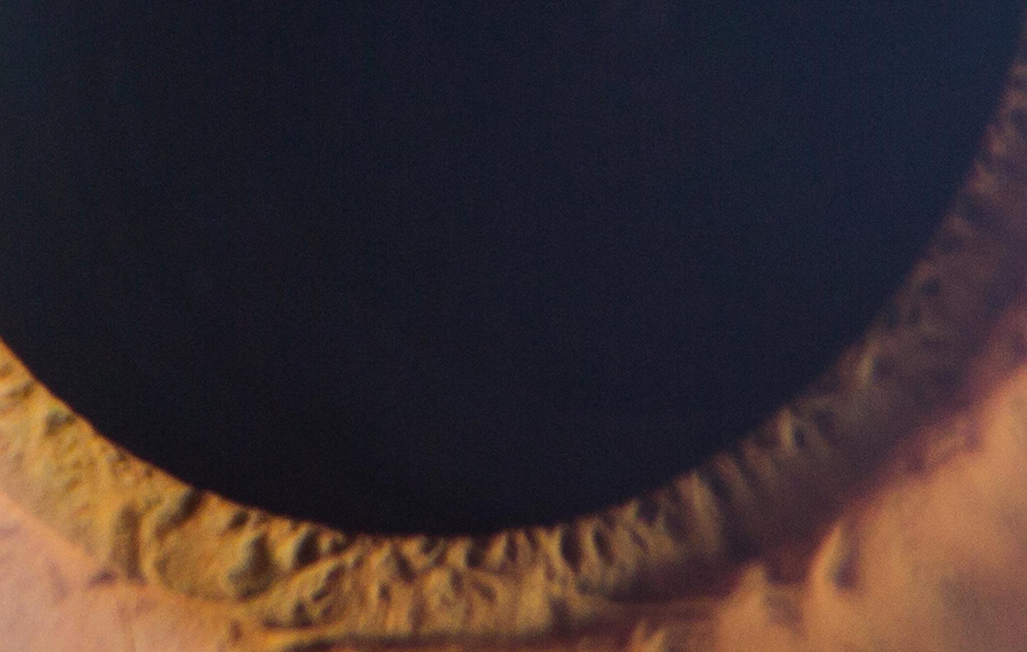 Pilcrow close up eye bottom