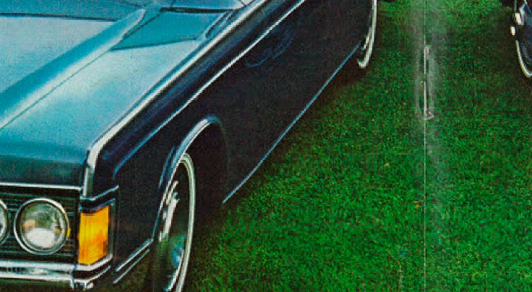 Pilcrow car advetisement middle