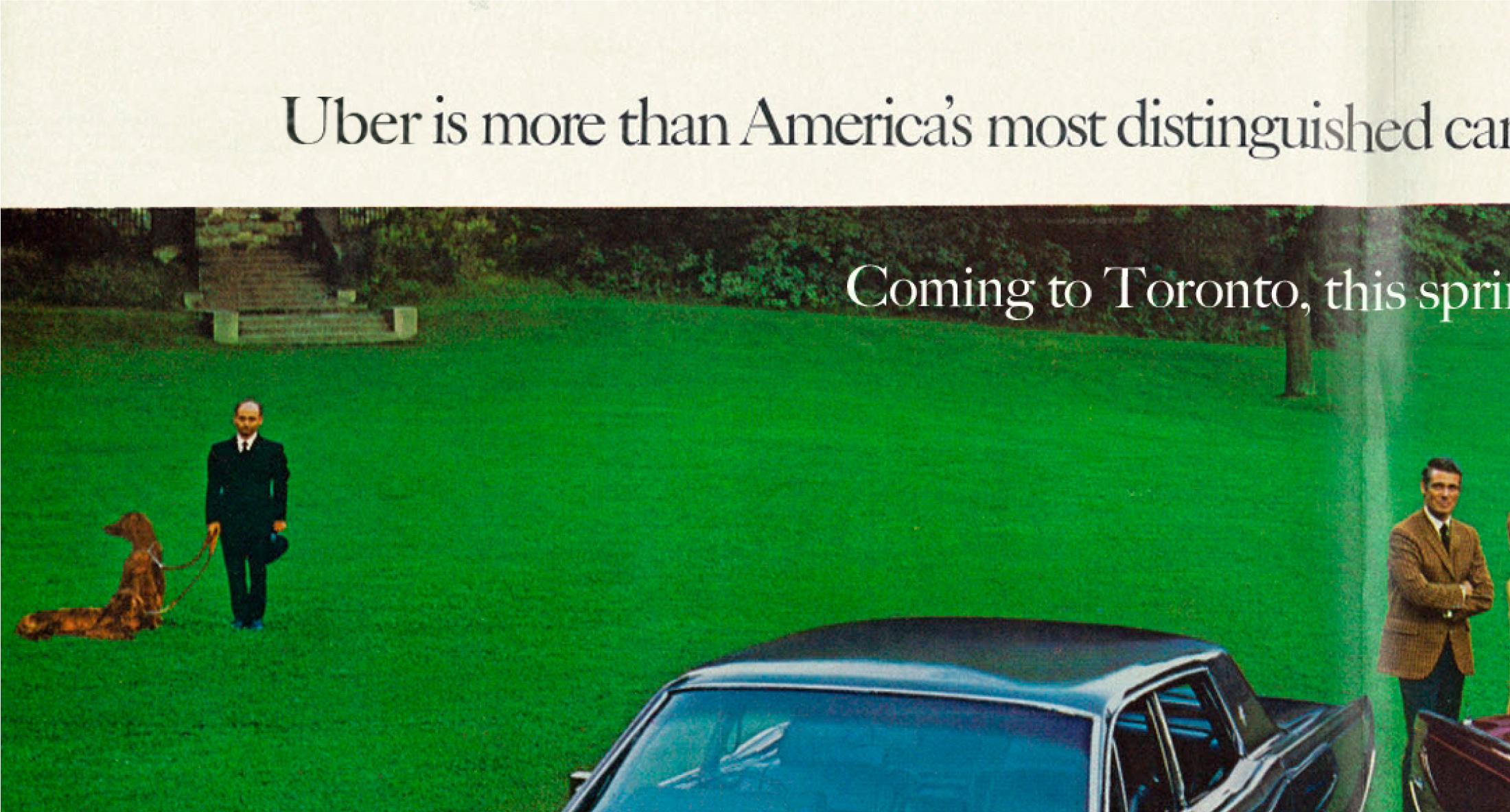 Pilcrow car advertisement main
