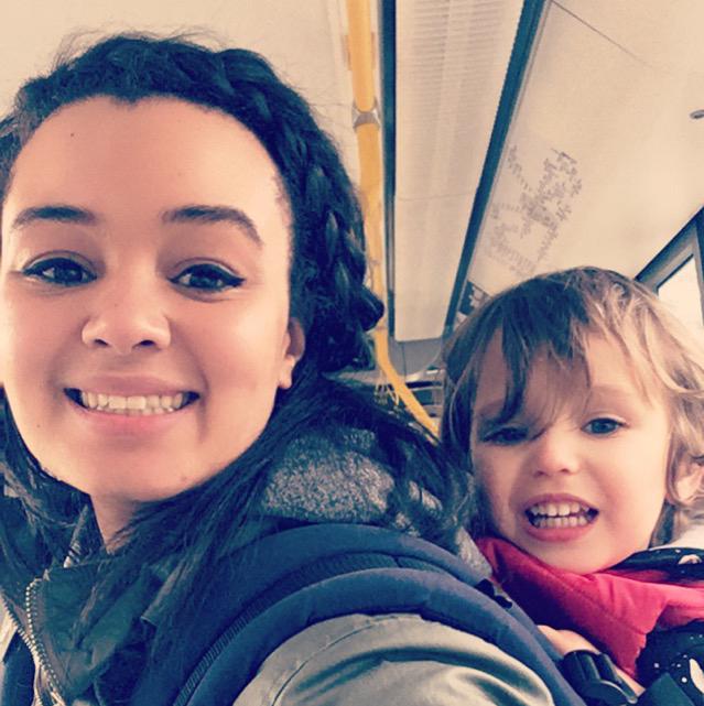Photo of Lauren Parker, Happy Nest Doula, Babywearing Mum