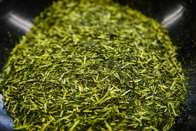 Shiraore green tea from Japan