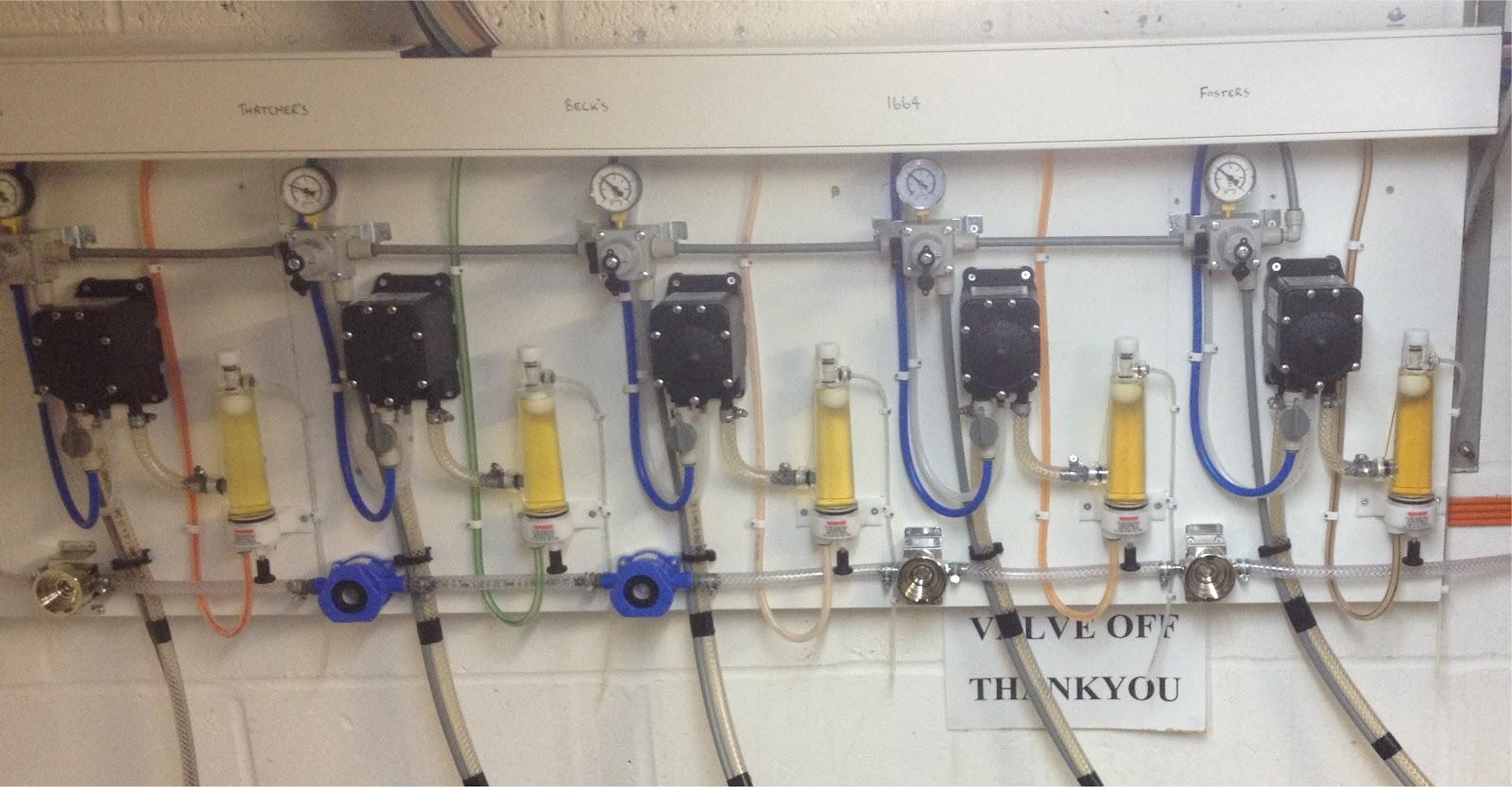 keg cellar installation London