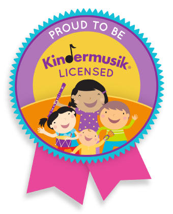 Kindermusik licensed badge