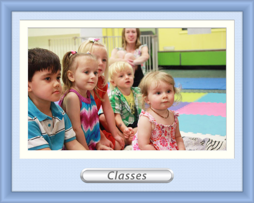 Photo of a Kindermusik class