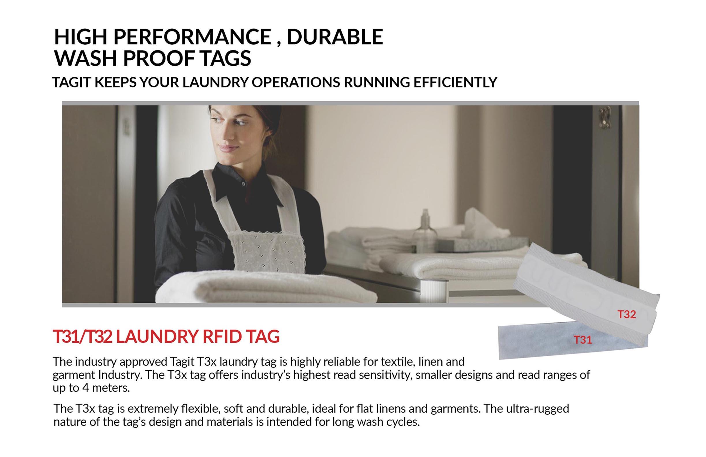 Tagit Laundry Tag Datasheet
