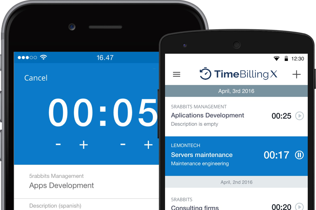 TimeBilling Time Tracking App