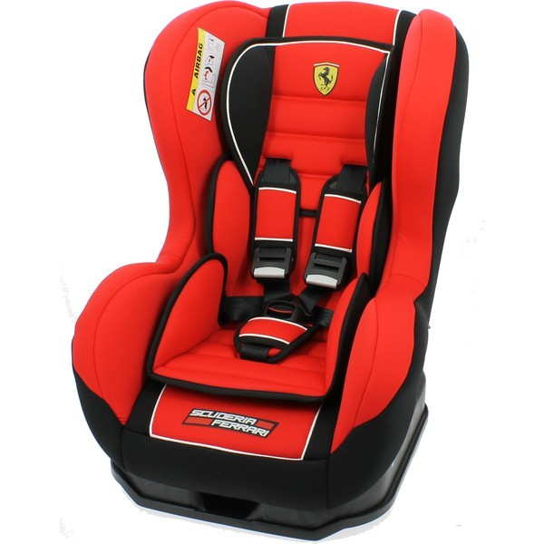 ferrari cosmo scuderia group 0 1 car seat in red cosmo car seats rh sweetlittlebabies com ferrari baby car seat manual cosmo Ferrari Booster Seat