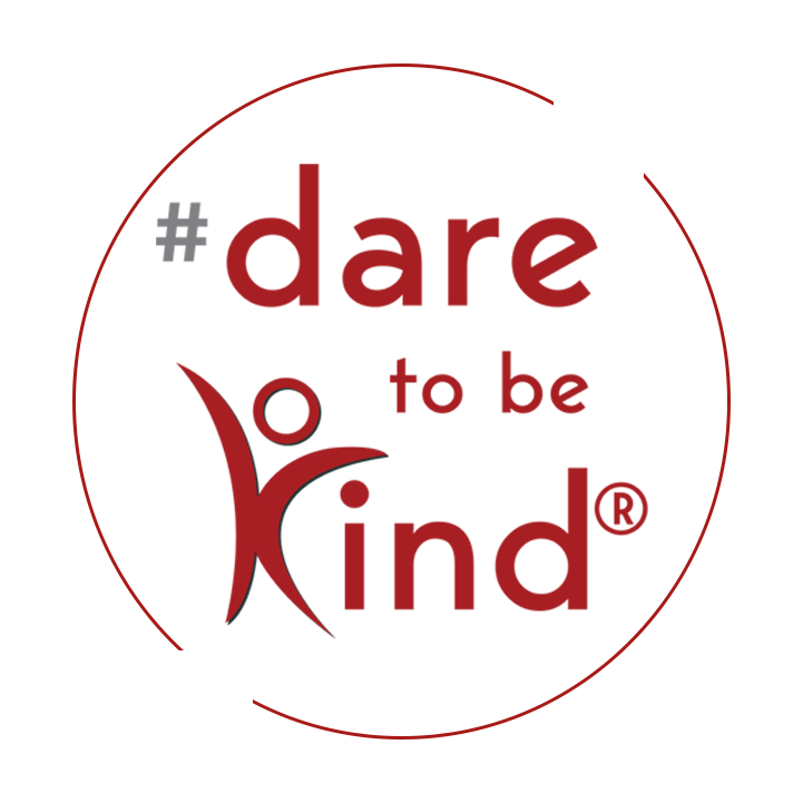 Photo of the Dare to Be Kind logo