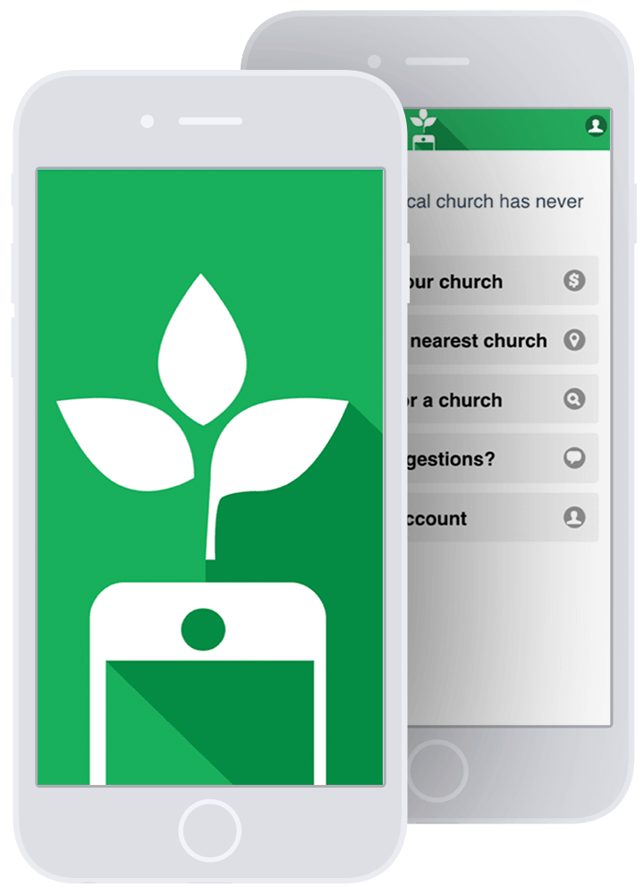 Mobile giving app for your church