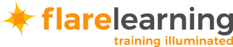 Logo: Flare Learning - Training Illuminated - eLearning Solutions