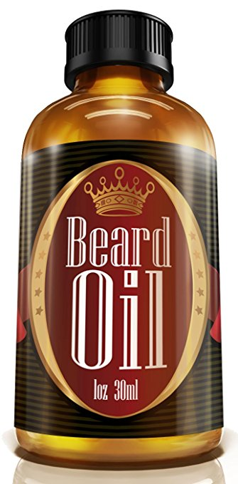 #1 Men's Choice Beard Oil - Fragrance Free, All Natural, 100% Pure Blend of Premium Ingredients: Conditioner that Promotes Awesome Beard Growth, Stops...