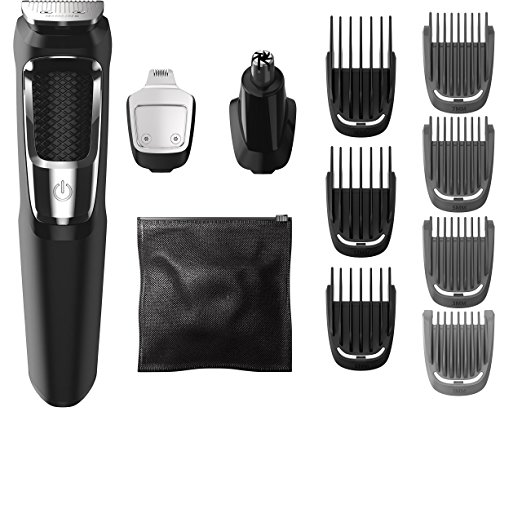 Philips Norelco Multigroom Series 3000, 13 attachments, MG3750