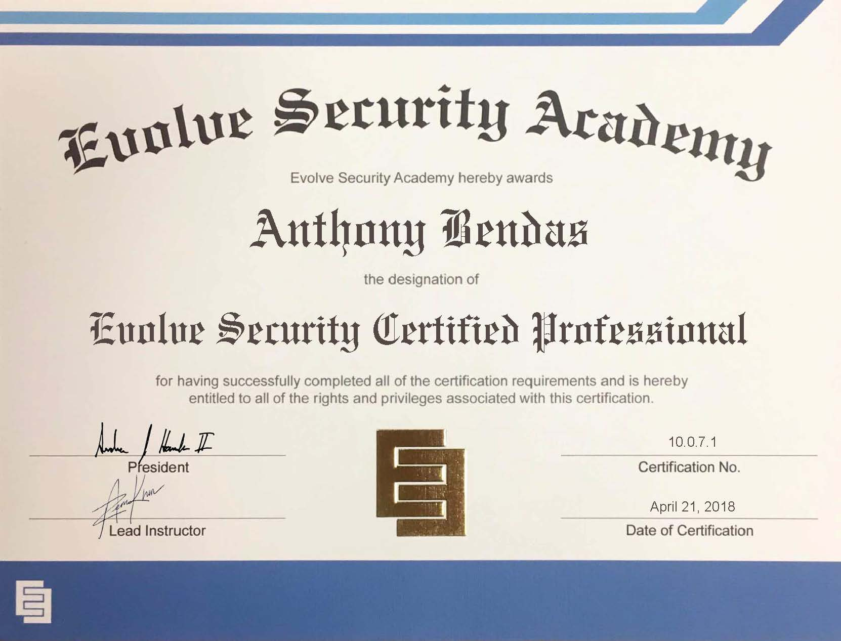 Evolve Security Cyber Security Services And Academy