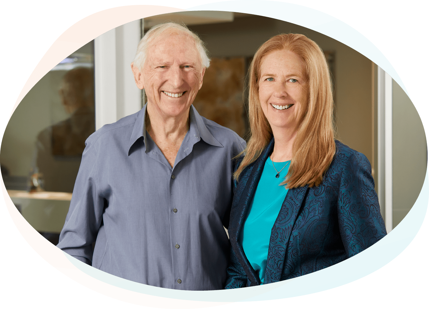 Dr Bob Murray and Dr Alicia Fortinberry