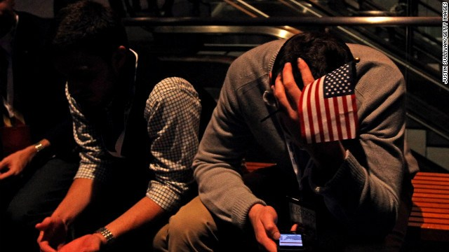 Voting for the losing side can affect your performance at work