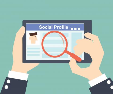 Can social media lead to labor market discrimination?